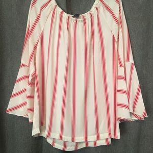 Talbots Off the shoulder blouse
